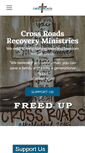 Mobile Preview of crossroadsrecovery.org