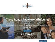 Tablet Preview of crossroadsrecovery.org